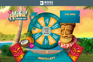 Aloha Bonus Wheel for Boss Casino