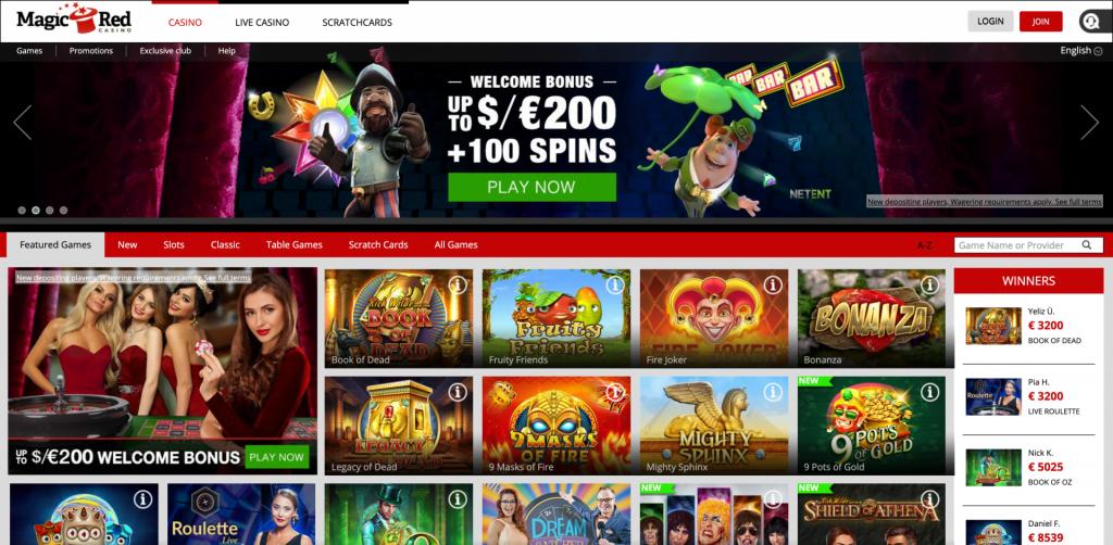 Magic Red Casino Review 2020 4csn Com