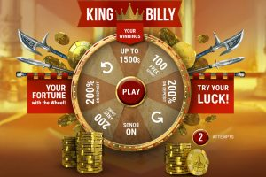 King Billy Bonus wheel